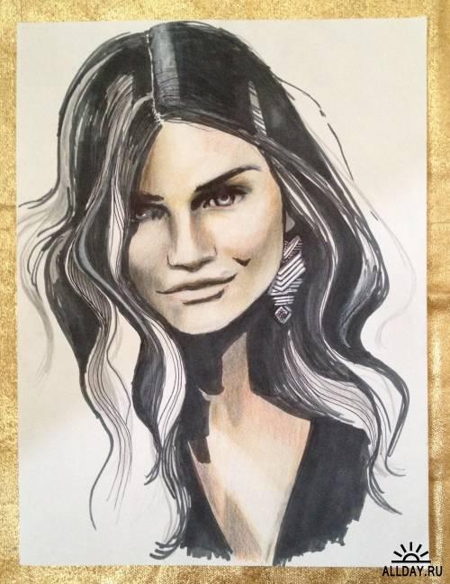 Artworks by Jessica Rae Sommer