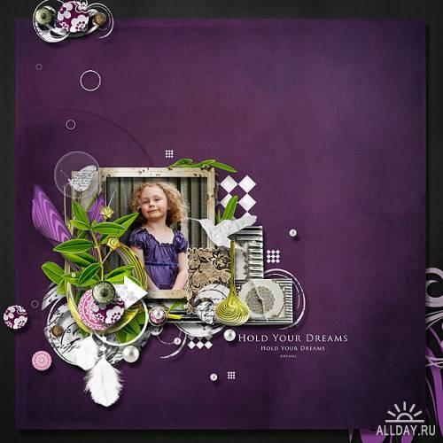 Скрап-набор Violet  Break