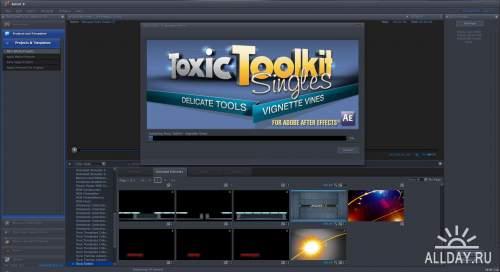 Digital Juice - Toxic Toolkit Singles - Vignette Vines (.djprojects)