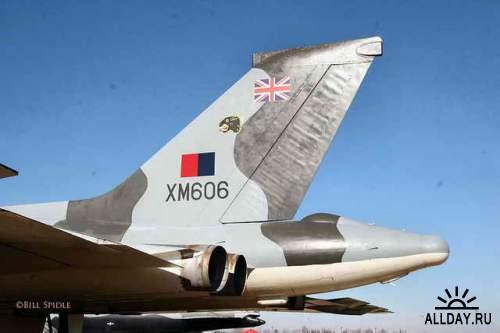 Фотообзор - британский стратегический бомбардировщик Avro Vulcan B2