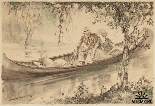 Американский художник Henry Patrick Raleigh (1880-1944)