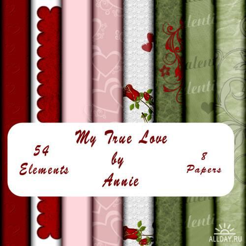 Скрап-набор - Моя правдивая любовь