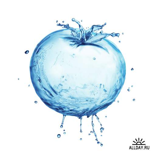 Water Objects Isolated HQ