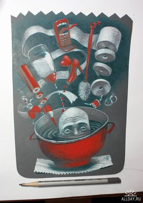 Иллюстрации Женько Мусиенко