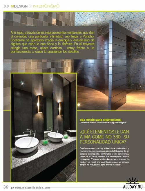 Maxwell Design Magazine Issue 01 2011