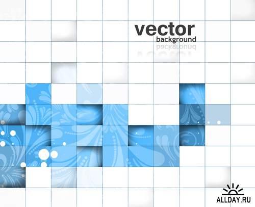 Абстрактные Векторные Фоны #62 - Векторный клипарт