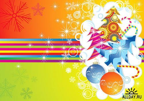 Stock Vectors - Christmas MIX | Новогодний Микс