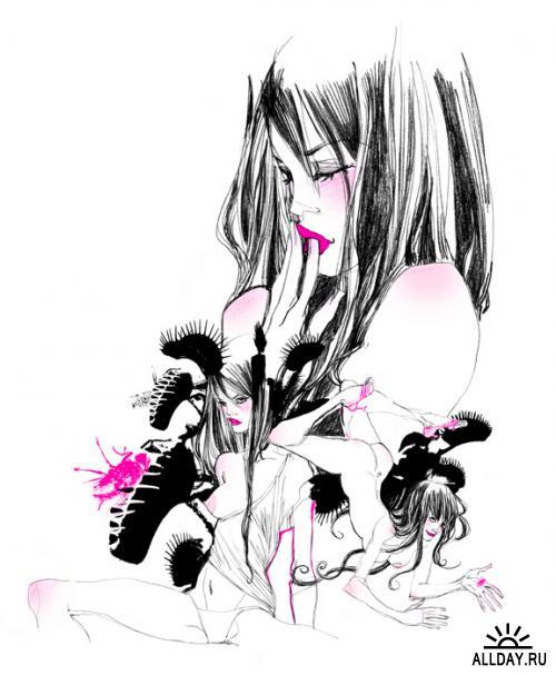 Иллюстратор Marguerite Sauvage
