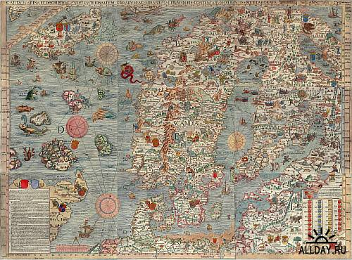 Antique Maps Images