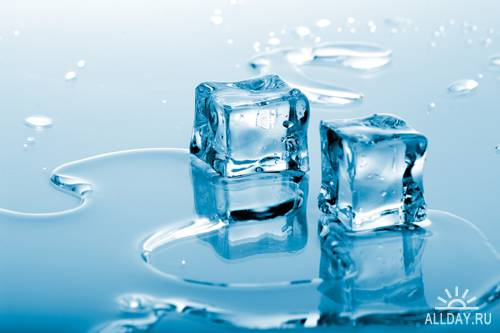 Ice cubes - UHQ Stock Photo | Кубики льда