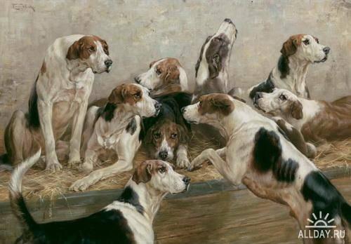 Английский художник Thomas Blinks (1853 -1910)