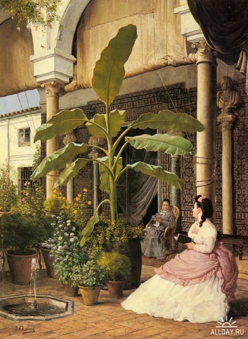Картины западных художников маслом. Часть 99