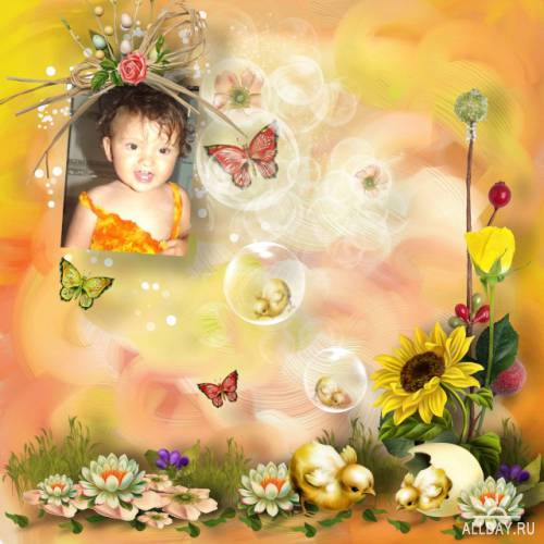 Scrap kit Smell of Spring