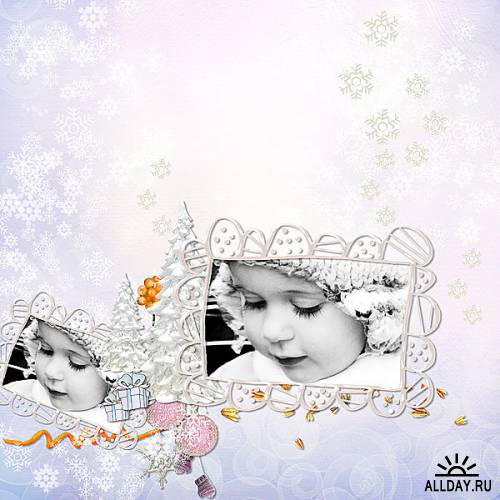 Scrap kit   Snowy  Picture