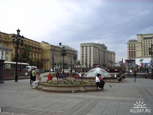 6 мая 2009 г, Манежная площадь (Москва предпраздничная)