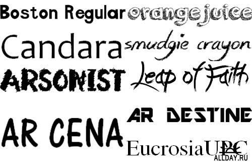 New fonts Internet