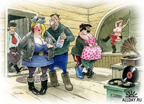 Смешные карикатуры от Борисыч