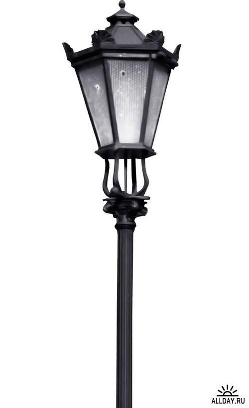 Lanterns and flashlights 1 | Фонари и фонарики 1 - Набор элементов для коллажей