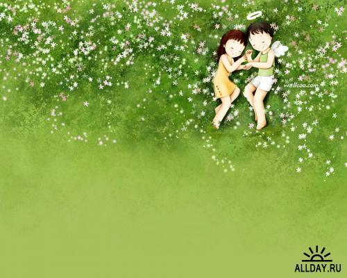 Иллюстрации Kim Jong Bok