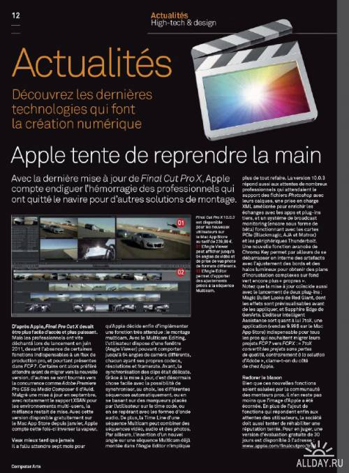 Computer Arts (Avril 2012) France