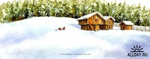 Иллюстратор John Walsom