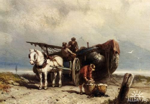 Картины западных художников маслом. Часть 40