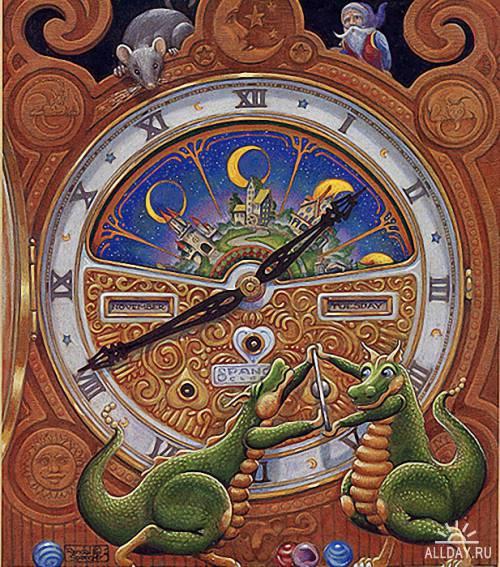 Фантастический мир драконов Рендела Спенглера