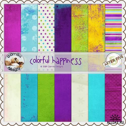 Скрап-набор Colourful Happiness