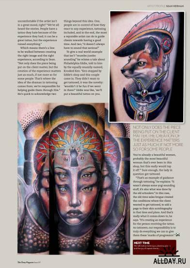 Skin Deep Tattoo Magazine №11 (November 2012) UK