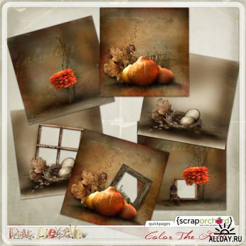 Scrap kit  Color Of Fall
