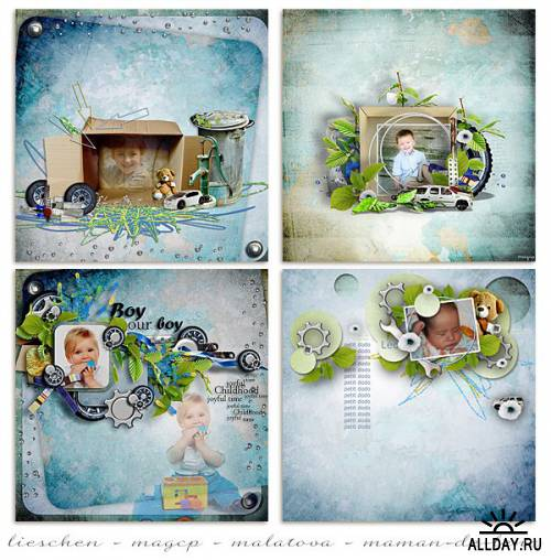 Scrap kit All what I need