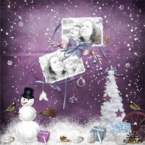 Scrap kit  Fairyhood Christmas