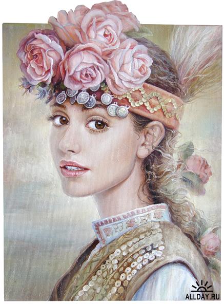 Болгарская художница Мария Илиева (Maria Ilieva)