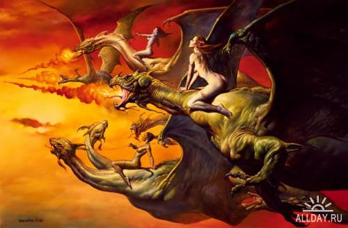 Драконы / Dracon series / 600 images