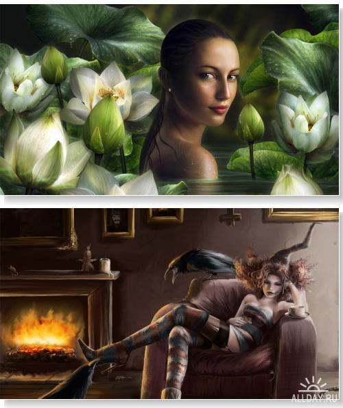 Fantasy and 3D Girls HD Wallpapers