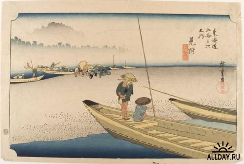 Японская живопись.XIX - начало XX века.Часть 11.