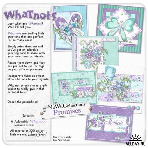 Скрап-набор Promises