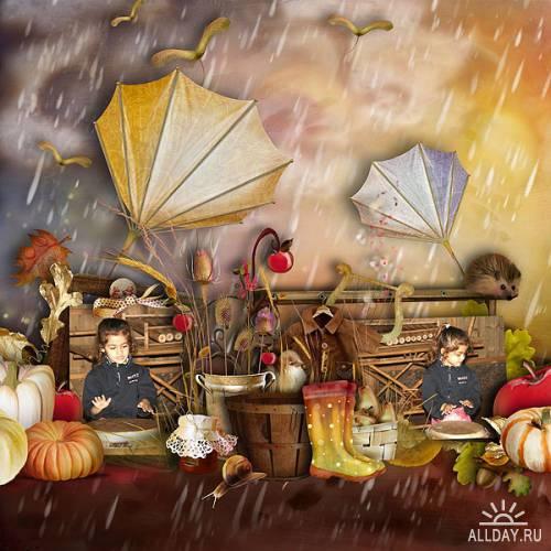 Scrap kit    Autumn On My Mind