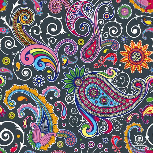 Stock Vectors - Flower Ornaments | Цветочные орнаменты