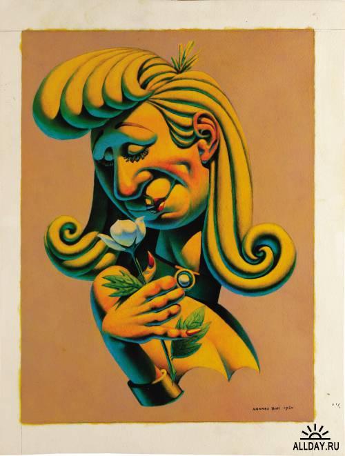 American illustrators (20th Century) часть 6