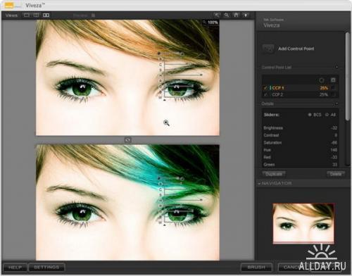 Nik Software Viveza 1.003 для Adobe Photoshop
