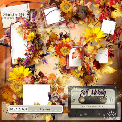 Scrap set - Fall melody