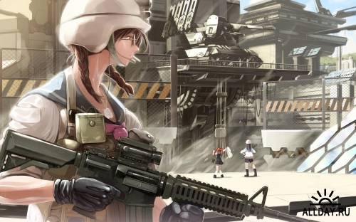 40 Wonderful Anime HD Wallpapers (Set 18)