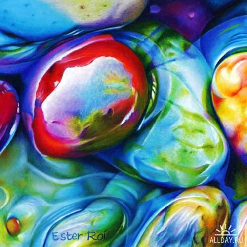 Мир тепла и холода в картинах Эстер Рои (Ester Roi)