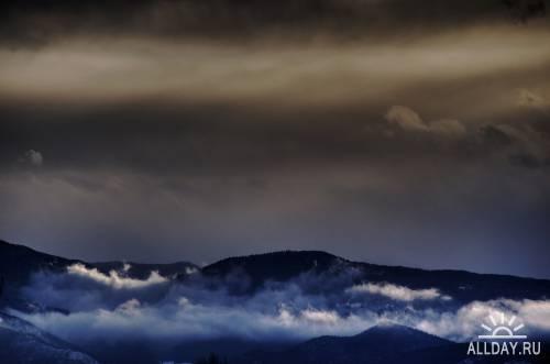 Пейзажи известного фотолюбителя Девида Эвенсона