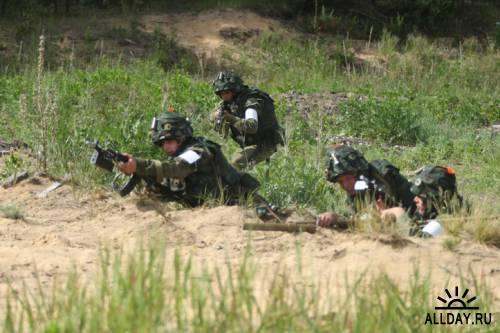 Военные учения на Гороховецком полигоне в 2010 году
