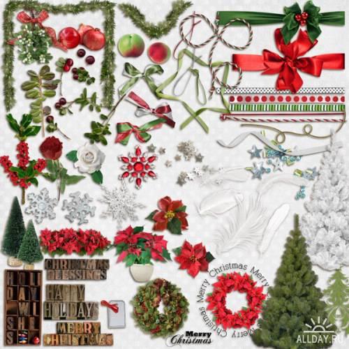 Скрап-набор - Pop Christmas