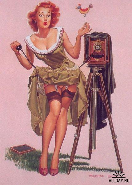 Pin-up. Более 6000 классических и современных изображений