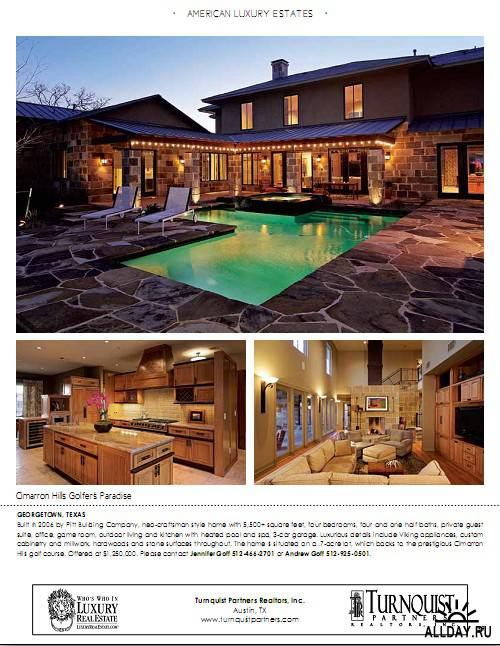 American Luxury Estates - Vol.3 No.2/Edit Texas 2011