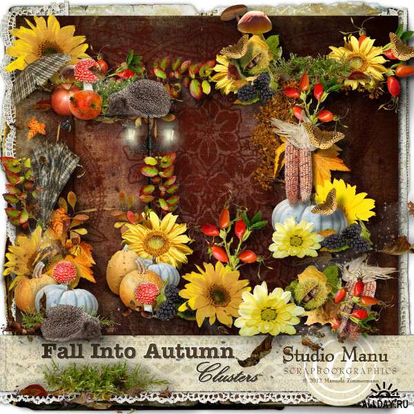 Scrap set - Fall into autumn